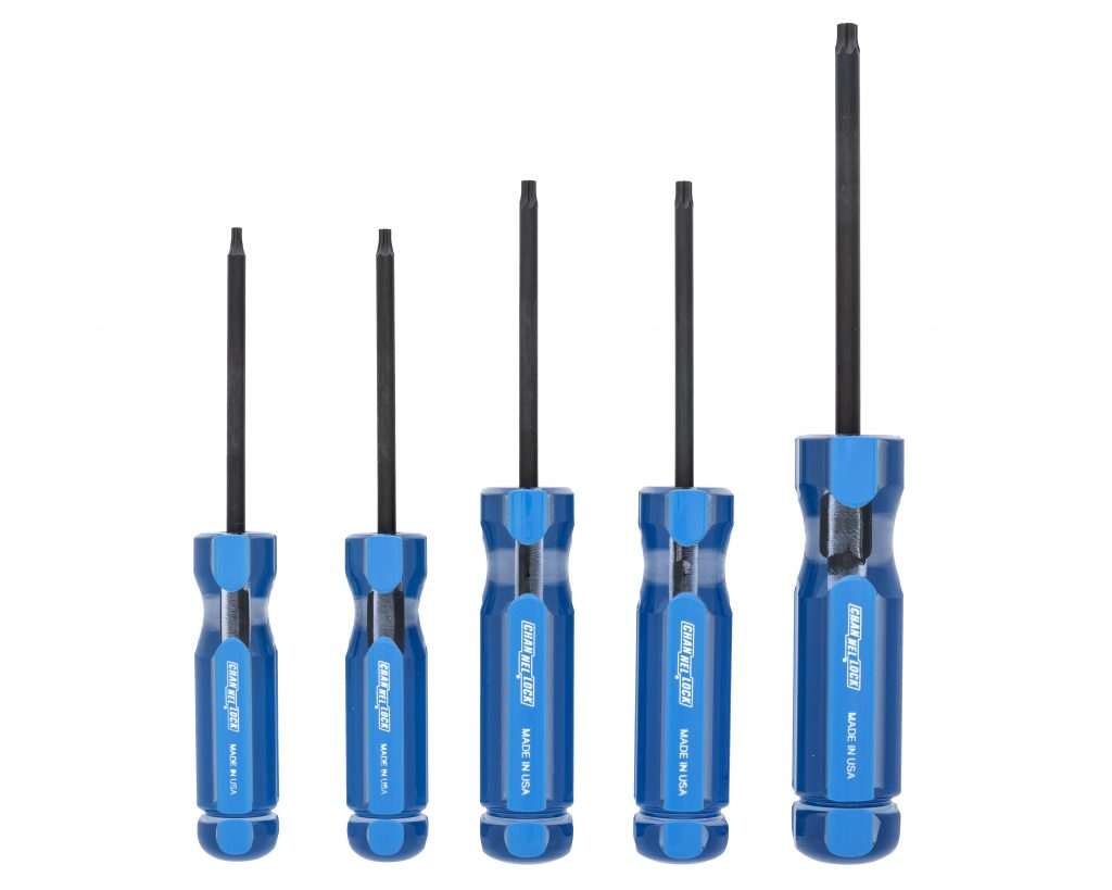 5 pc. Torx Professional Screwdriver Set - Item Number TS-5A